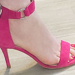 Victoria's Secret Woman's Sexy Pink High Heels